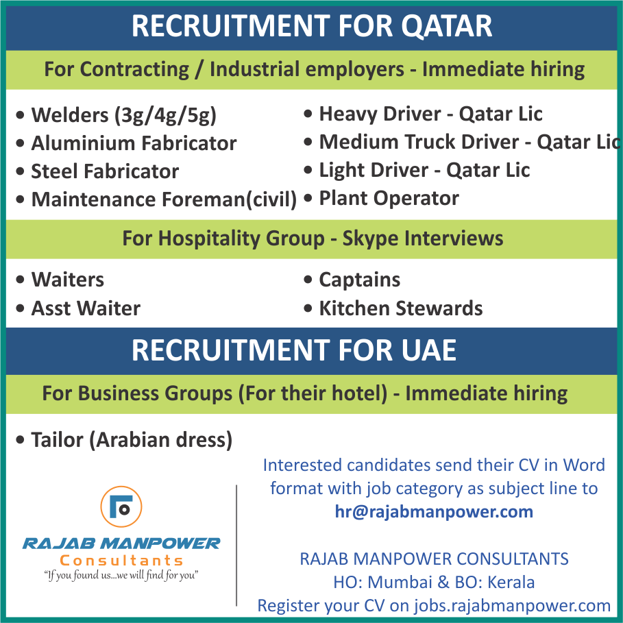 Gulf Recruitment For Contracting / Industrial