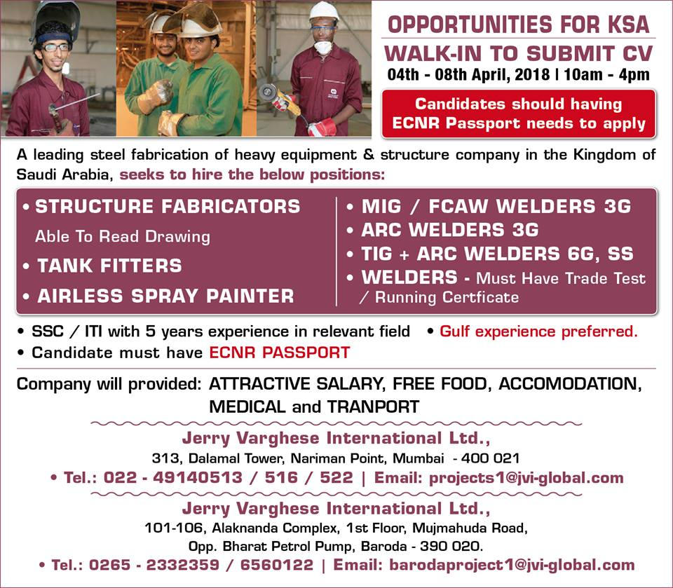 OPPORTUNITIES FOR KSA Heavy equipment & structure company