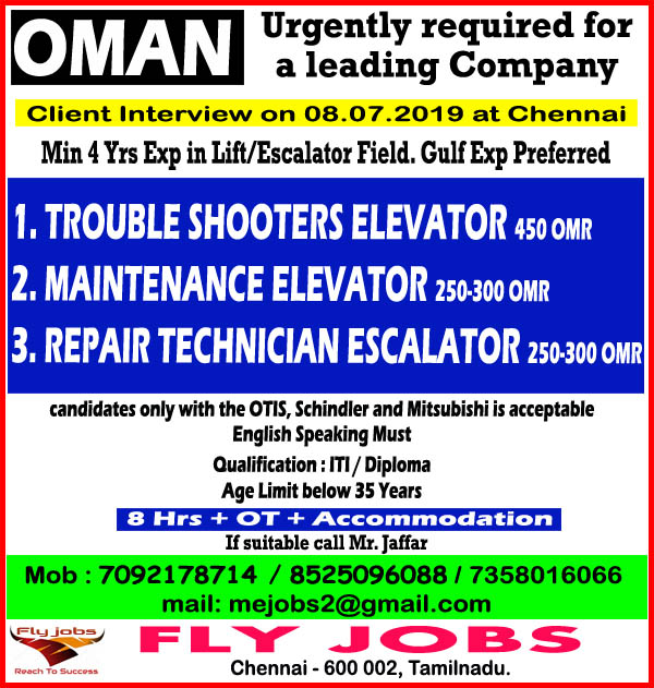 Trouble shooters Elevator, Maintenance Elevator, Repair