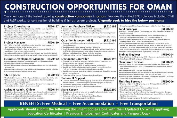 Construction Opportunities Fastest Growing Construction