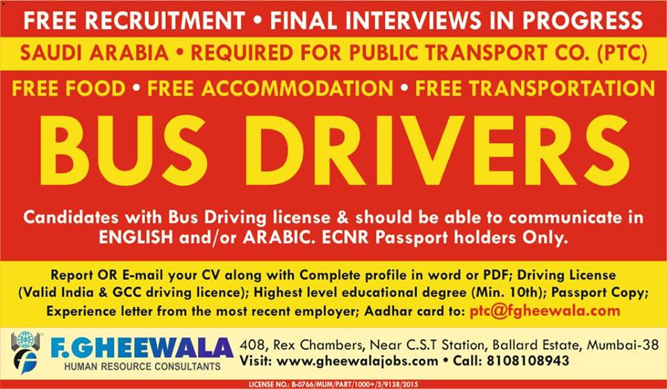 Recruitment Agencies In India For Saudi Arabia