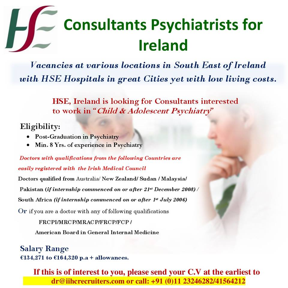 Consultants Psychiatrists for Ireland