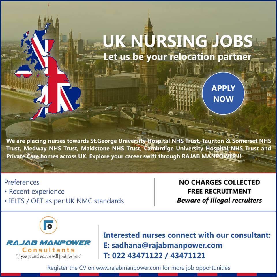 UK Nursing Jobs