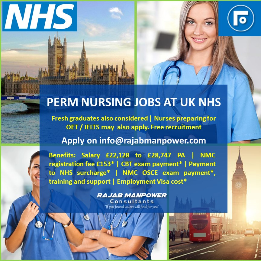 Calling nurses to explore the opportunities UK NHS